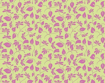 Lila Tueller for Riley Blake Designs - SPLENDOR - Floral in Green - Cotton Fabric