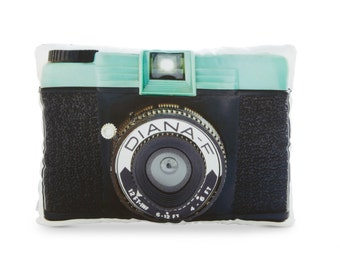 Diana-F Camera Printed Pillow