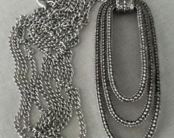 Vtg Silvertone Pendant  1970's