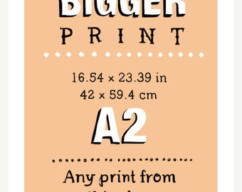 16.54 x 23.39 (A2) - Any print in this shop