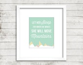 Move Mountains Instant Download Print