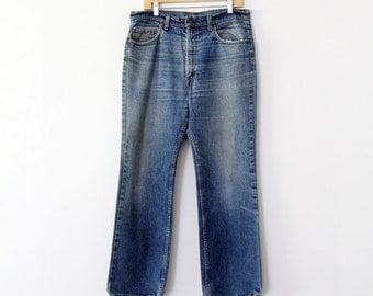 FREE SHIP  Levi's 517 jeans, vintage American denim waist 36