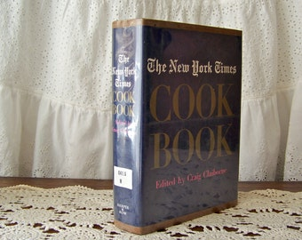 Vintage New York Times Cookbook 1961 Traditional American Recipes Retro Kitchen