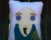 daenerys targaryen, pillow, plush, cushion, game of thrones inspired, throw pillow,