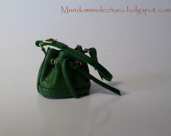 Leather bag design, miniature, le petit Noe