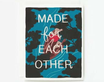 Made for Each Other Card 1pc
