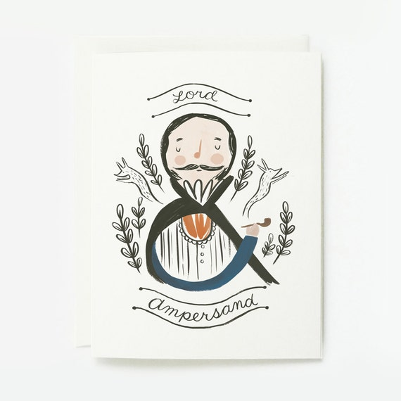 Lord Ampersand Card 1pc