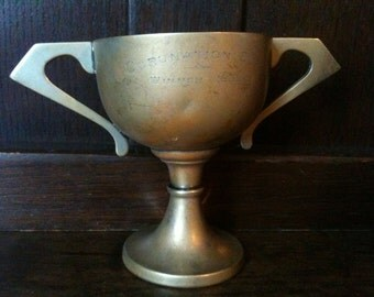 Vintage English Coronation Trophy Cup Goblet 1939 / English Shop
