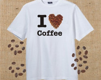 I Love Coffee, T-Shirt