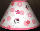 Hello Kitty Fabric Lamp Shade