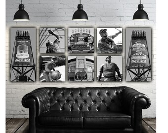 Chicago White Sox Canvas Set / Ultimate Sox Art Grouping - White Sox Canvas, White Sox Wall Art, White Sox Photos