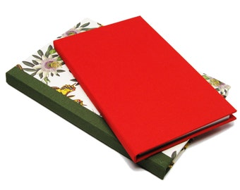 """5"""" x 8"""" Notepad Folio, Book Cloth Covers"""