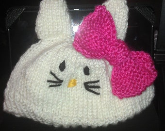 Hello Kitty Toddler or Child Hat