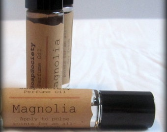 Herbal Perfume Oil---Fresh Magnolia