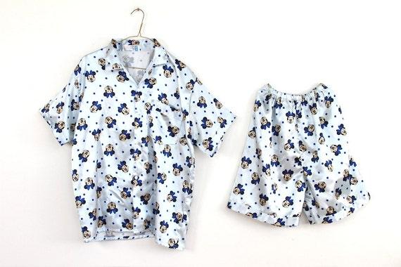 MINNIE MOUSE silk pajamas , vintage