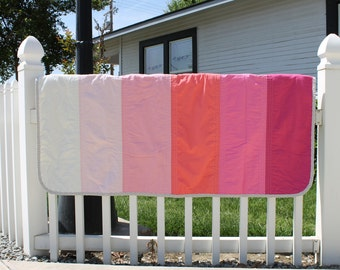 Pink Ombre Quilt