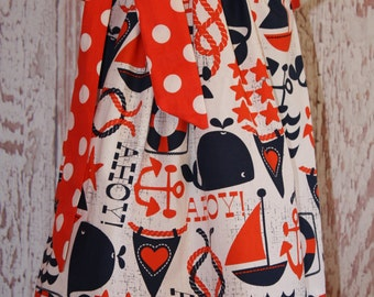 Ahoy  Mateys Pillowcase Dress