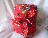 Red Minnie Mouse Car Seat Cooler