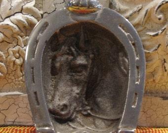 Vintage Horseshoe Trinket Tray