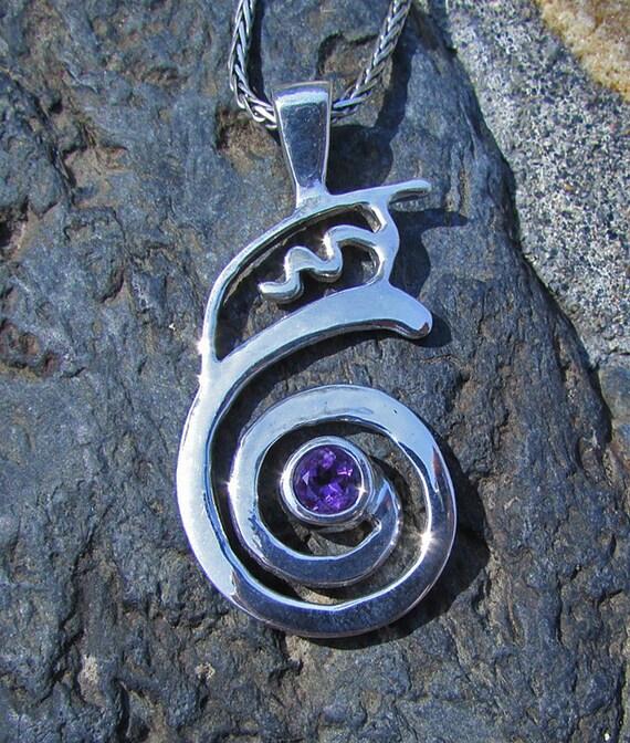 Reiki Symbol Jewelry - Dai Koo Myo - Dumo - 14k Gold Reiki Symbol Jewelry - Reiki Master - Sterling Silver - Reiki Symbols - Reiki Gift -