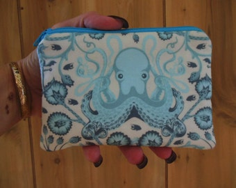 Sale-Octo Garden small zipper/gadget holder/ accessory/coin pouch