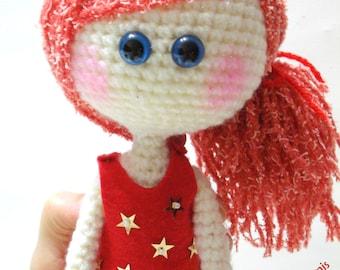 Patterns, Doll, Instant Download, Tutorial, pdf, Amigurumi Girl, Doll Pattern