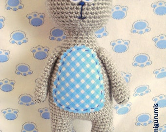 Crochet Pattern, Amigurumi Pattern, Amigurumi Toy, Teddy Bear, Animal Pattern Crochet, Amigurumi Teddy Bear