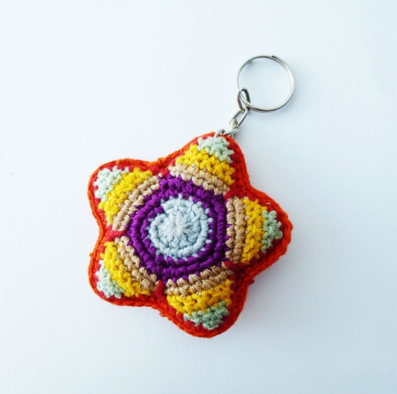 Crochet Keychain : Crochet Keychain by annemariesbreiblog on Etsy