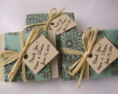 wedding favors soaps , 30 handmade soaps, favor soaps, rustic wedding, cool summer favors