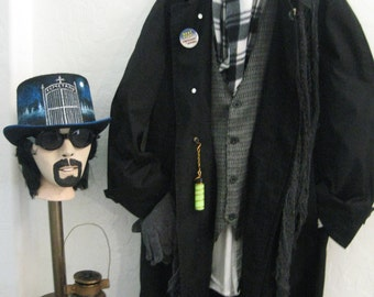 Awesome Quality Steampunk Paranormal Cemetary Ghost Hunter Halloween Costume