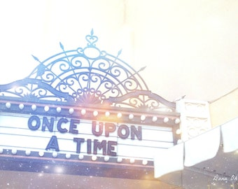 "Once Upon a Time 5x7"" Fine Art Photography. Fairy Tale. Princess. Disney World"