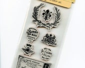 Cling Mounted Rubber Stamps from Graphic 45 - French Country 3