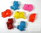 Cat Crayon set of 4 by Scribblers Crayons