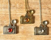 Dorothea Camera Pendant Necklace