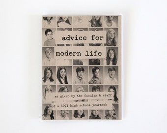 Advice for Modern Life zine