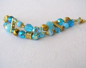 Swarovski bracelet.    Beads bracelets.