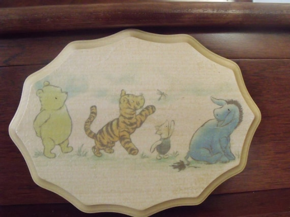 Items Similar To Winnie The Pooh Tigger Piglet Eeyore