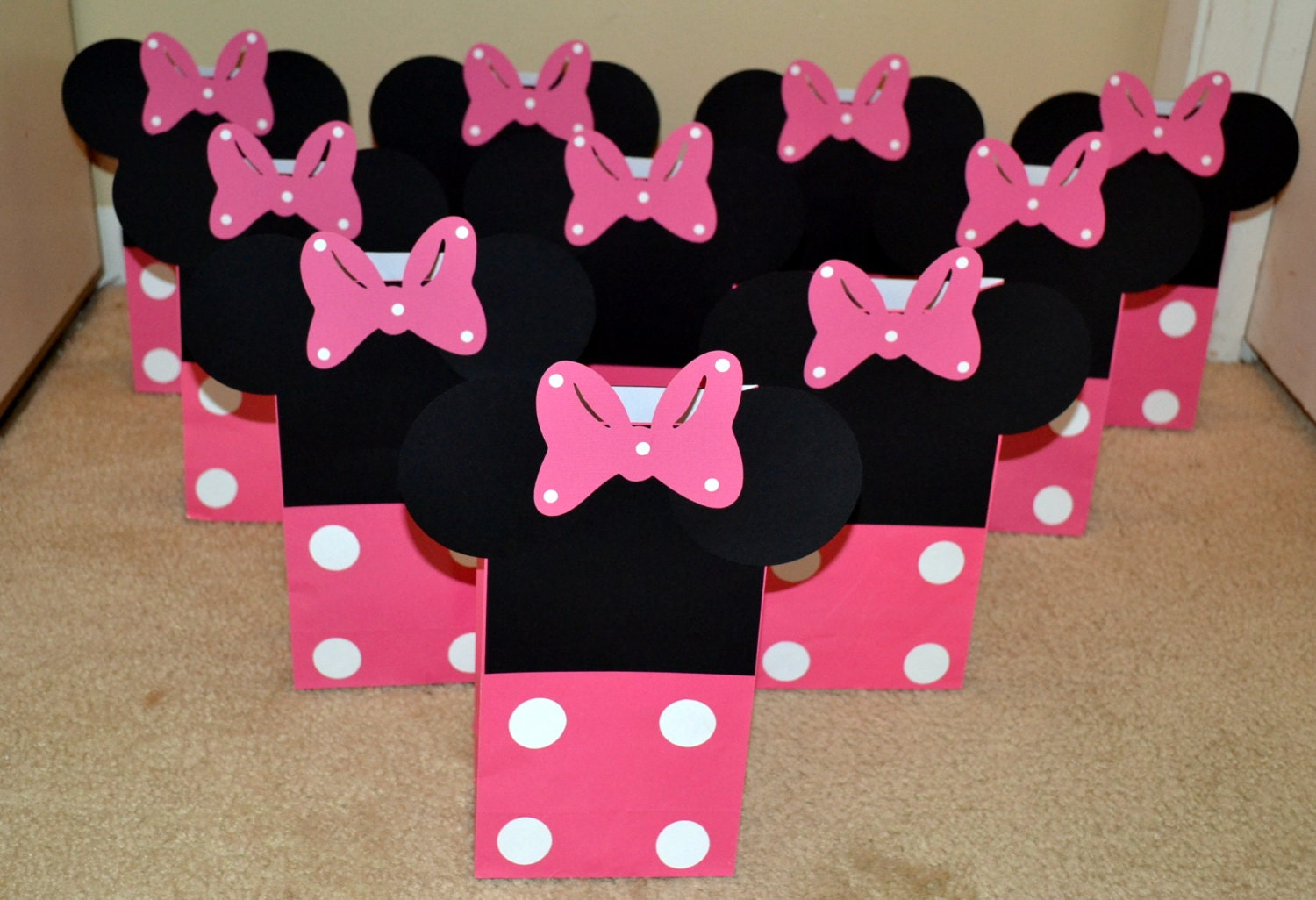 Minnie Mouse Goody Bags Treat