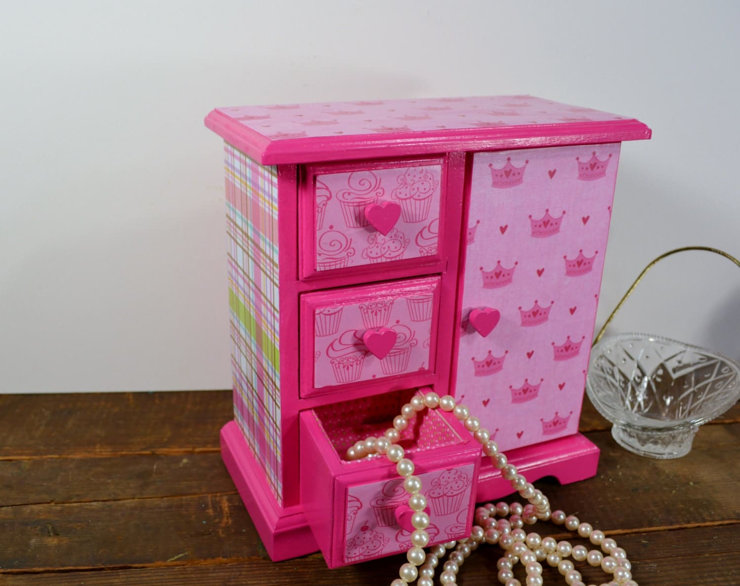 Girls Jewelry Box Little Girls Jewelry Box Hot Pink