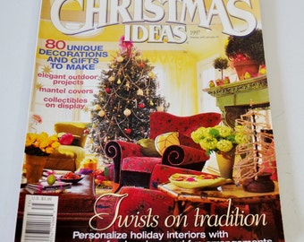 Christmas Ideas Better Homes and Gardens Special Interest Publications 1997 Gifts Decor Recipes Crafts