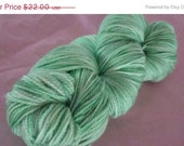 ON SALE 35% OFF Lambie Pie Super Wash Merino / Nylon Sock Yarn in Lettuce