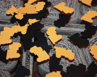 200 Dump Truck Confetti/Die Cut/Cutout/Birthday/Scrapbooking/Paper Punch