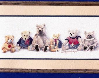 Simplicity Stitchery 'Nubbbin's Bears' By Martha Smith Hayes Factory Sealed- 5