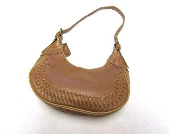 Honey Brown Purse Shoulderbag Western Handbag