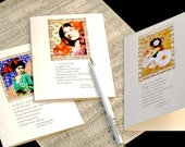 5 Opera-themed Cards - Music lovers Greeting Cards - 'Opera Heroines' by Eliza's Dream - FREE POSTAGE!