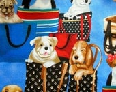 Gorgeous DOGS & PUPPIES ~ Best FRIENDS ~ Pampered Pets ~ Designer Fabric ~ I Love Dogs