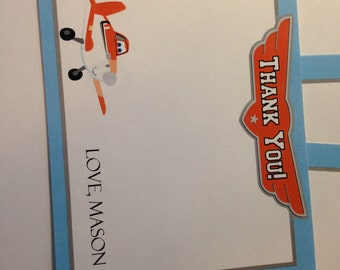 Planes Thank You Cards