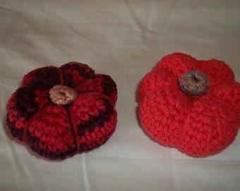 Mini Crocheted Pumpkins Amigurumi