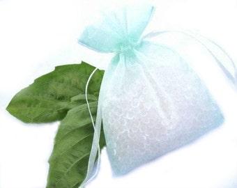 Citrus Basil Aroma Bead Sachet- Highly Scented Sachet, Air Freshener - Car Freshener