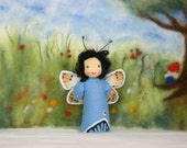 Made to order: butterfly / butterfly child / springtime / waldorf inspired / natural table